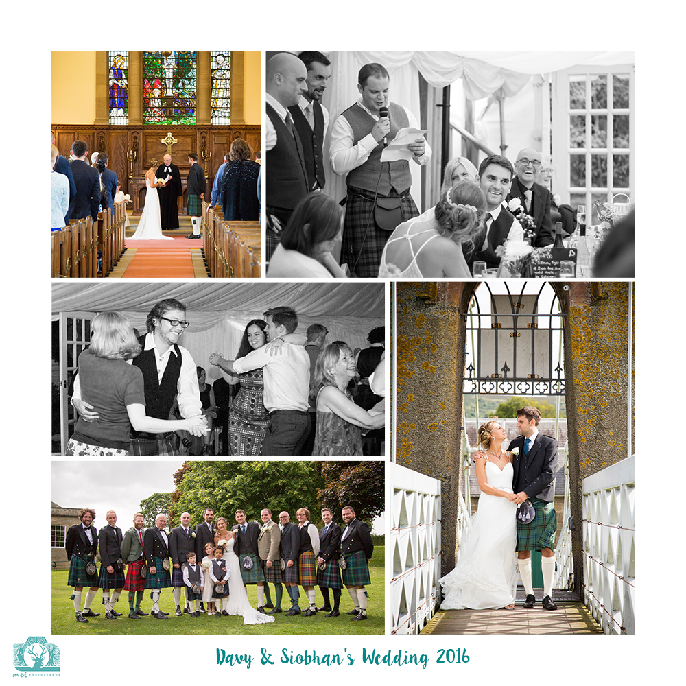 Davy & Siobhan Wedding July 2016 Square WR